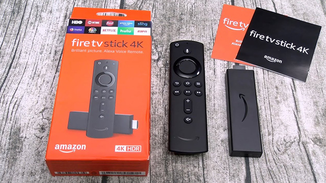 Amazon Announced Software Update for Fire TV Stick 4K Screen