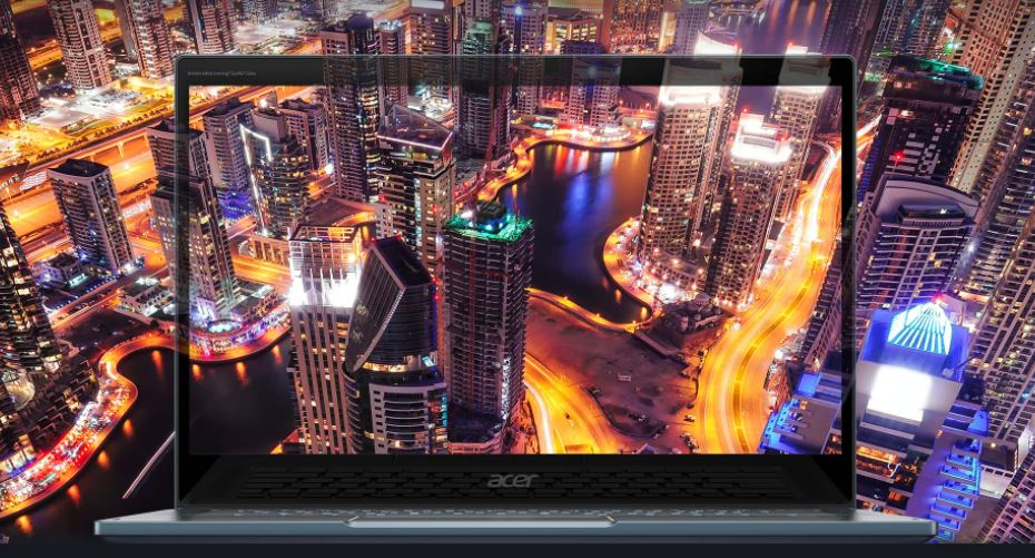 Acer Spin 7 5G-Enabled Laptop Screen