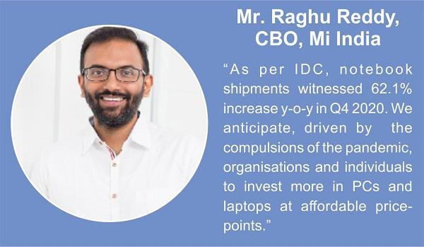Mr. Raghu Reddy, CBO, Mi India