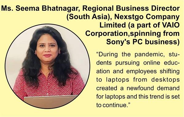 Ms. Seema Bhatnagar, Regional Business Director (South Asia), Nexstgo Company Limited
