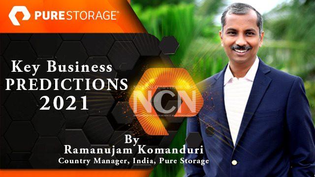 Ramanujam Komanduri, Country Manager, India, Pure Storage