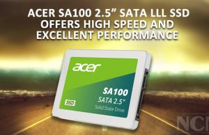 """Acer SA100 2.5"""" SATA lll SSD"""