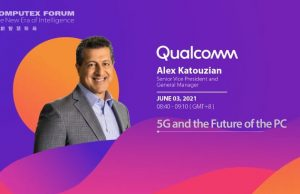 Alex Katouzian, SVP & GM of Mobile, Compute, and Infrastructure for Qualcomm Technologies