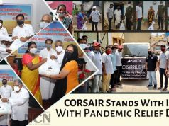 CORSAIR Stands with India with Pandemic Relief Drive