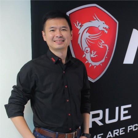 Derek Chen, MSI Notebook Worldwide Sales and Marketing Director