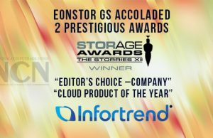 EonStor GS accoladed 2 prestigious awards from Storage Magazine in UK