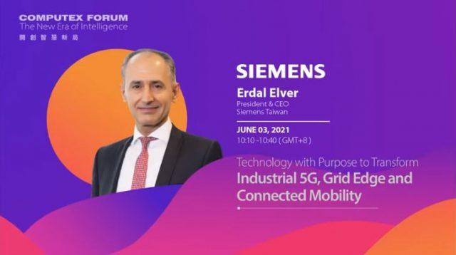 Erdal Elver, President & CEO, Siemens Taiwan