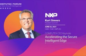 Kurt Sievers, President & CEO of NXP Semiconductors, at the Computex CEO Forum