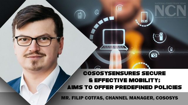 Mr. Filip Cotfas, Channel Manager, Cososys