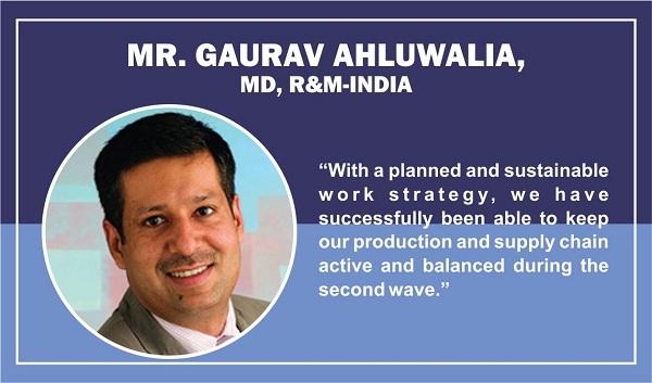 Mr. Gaurav Ahluwalia, MD at R&M-India