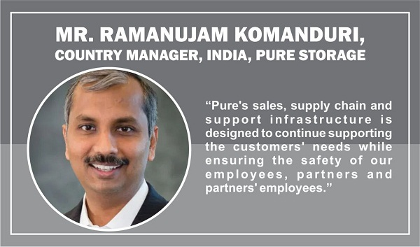 Mr. Ramanujam Komanduri, Country Manager, India, Pure Storage