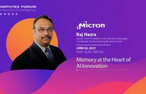 Raj Hazra, senior vice president for computing and networking at Micron
