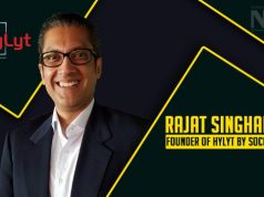 Rajat Singhania founder of Hylyt by SocioRAC