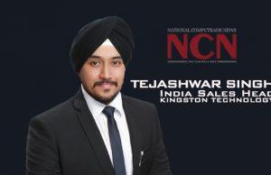Mr. Tejashwar Singh, India Sales Head, Kingston Technology