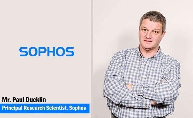 Paul Ducklin, Principal Security Researcher, Sophos
