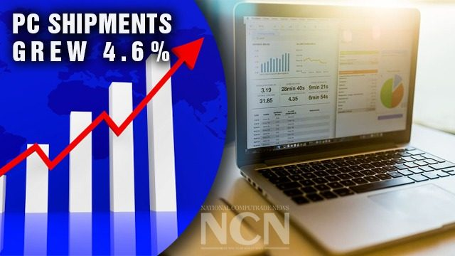 Worldwide PC Shipments Grew