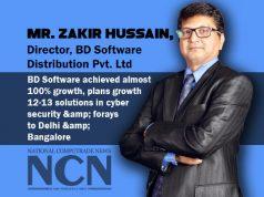 Zakir Hussain, Director, BDSoftware Distribution Pvt. Ltd