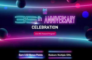 MSI 35th Anniversary Deals