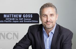 Matthew Goss as Senior Vice President & General Manager for Asia Pacific Japan and Greater China