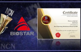 BIOSTAR Won 'The Best Performing Motherboard Brand of the Year 2020 01