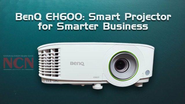 BenQ EH600 Smart Projector for Smarter Business