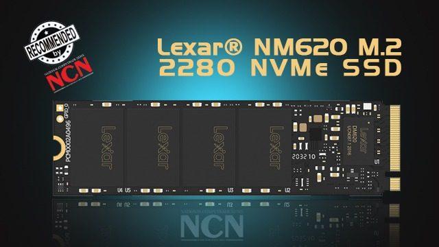 Lexar NM620 M.2 2280 PCIe Gen3x4 NVMe SSD
