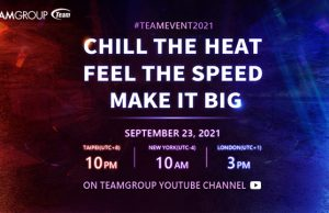 TeamGroup, Online event