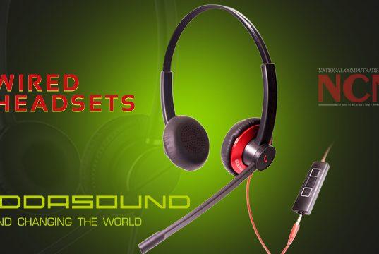 ADDASOUND WIRED HEADSETS
