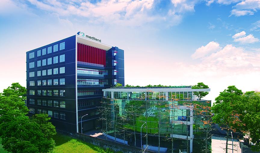 Mediland Building Taiwan